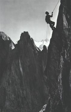 old skool mountaineering
