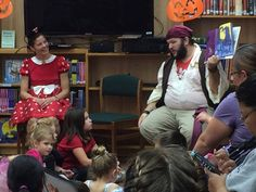 Scary Tales at the New River Library in 2016.  This was a Halloween themed story time that also had crafts and snacks.