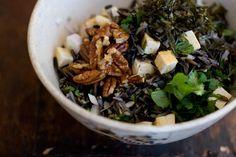 Wild seaweed salad