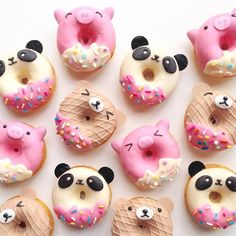 Piggy, panda or ice cream bear? Could you bear to eat them?