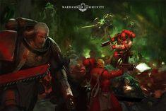 Warhammer 40k Blood Angels, Warhammer 40k Art, Lord Of War, Epic Pictures, Imperial Fist, Raven Art, Team Fortress 2, The Grim, Angel Art