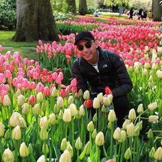 Avec les tulipes.  by juizy_jhay
