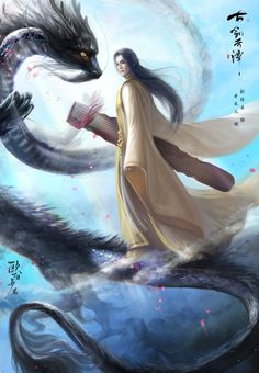 Fantasy Chinese art and illustrations http://www.deviantart.com/art/gu-jian-qi-tan-15-477269311