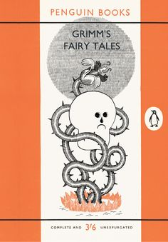 grimm's fairy tales - cover design by nick edwards [unentered design for a penguin book competition]