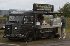 Citroen H Van - La Maison Du Cafe - Mobile Coffee Shop  |  Steven Gray via Flickr
