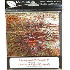 La-Dore-Gold-Leaf-Variegated-Red-Leaf-6ct