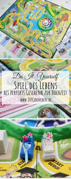 DIY Spiel des Lebens individualisieren - perfekte Geschenkidee Hochzeit [Display] DIY - customize game of life quickly and easily - the perfect gift idea for the wedding: DIY, crafts, do it yourself, Perfect Wedding, Diy Wedding, Wedding Gifts, Don D'argent, Photos Booth, Diy Games, Handicraft, Diy Art, About Me Blog