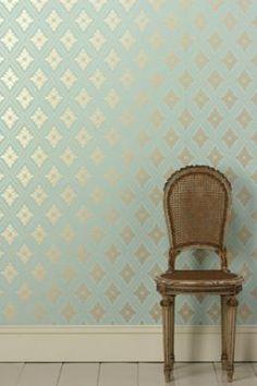 Wallpaper - Farrow & Ball - Prim and Proper - Paint & Paper Ltd #InteriorDesign