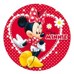 Disney Red  Minnie Mouse Birthday Party Gift by XochitlMontana
