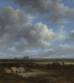 View of Haarlem from the Northwest, with the Bleaching Fields in the Foreground | Jacob Isaacksz. van Ruisdael | c.1650-c.1682 | Rijksmuseum | Public Domain