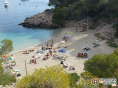 Cala Salada, Ibiza.  #Ibiza #playas #calas #beach #beaches  Recorre todas las calas de Ibiza con http://www.reservasdecoches.com
