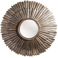 Spiegels - Artistical poly sun mirror frame s Sun Mirror, Sunburst Mirror, Round Mirrors, Home Accents, Wall Decor, House Design, Interior Design, Inspiration, Home Decor