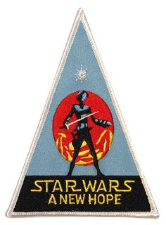 Star Wars New Hope Lucas Movie Triangle Badge by CoolPatches