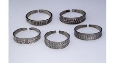 Silver arm-rings from Red Wharf Bay, Anglesey. © National Museum of Wales