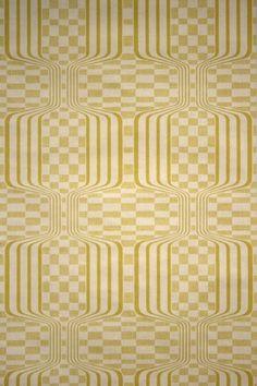 Vintage Retro Geometric Wallpaper