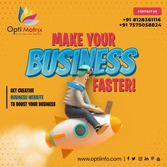 Want to make a global reach of customers with just a click and grow your business faster? Build your website from us for your business now and increase your customer base with a click. 🖥️ www.optiinfo.com 📩 info@optiinfo.com 📲 +91 8128361116 🔗 wa.me/918128361116 #growonline #design #brand #brandingdesign #branding #brandpromotion #onlinemarketing #digitalmarketing #marketing #advertising #marketingagency #socialmediamarketing Website Design Services, Website Design Company, Online Marketing, Social Media Marketing, Digital Marketing, Branding Design, Logo Design, Brand Promotion, Business Website