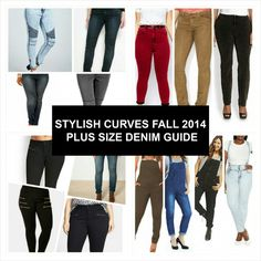 STYLISH CURVES FALL 2014 PLUS SIZE DENIM GUIDE
