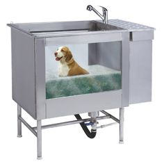 Pinned onto dog bath tub Board in Dog Products Category Dog Grooming Supplies, Pet Supplies, Dog Bath Tub, Pet Vacuum, Dog Spa, Barn Animals, Pet Hotel, Dog Wash, Thing 1