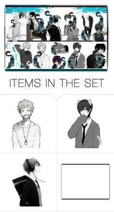 """""""Cats"""" by pepitarita ❤ liked on Polyvore featuring art"""
