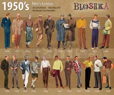 of Fashion on Behance The Effective Pictures We Offer You About Historical Fashion illustration A quality picture can tell you many things. You can find the most bea 1950s Style, 50s Style Men, Mens 50s Style Clothing, 1950s Look, 1950s Fashion Menswear, Vintage Fashion 1950s, Retro Fashion, 1950s Fashion Women, 1950s Mens Fashion Casual