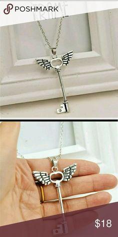 Wing Key Adjustable Necklace New Brand New  Bundle & Save  Hypoallergenic Nickel Free  Great for Sensitive Skin zdazzled Jewelry Necklaces