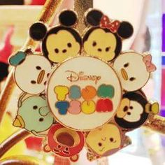 New Tsum tsum pins at Disney Parks