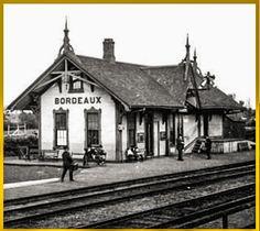 BORDEAUX, Québec- La Gare - Chalet Suisse Style architecture  OL_edited
