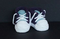 Baby Tennis shoes, Baby Sneakers, Baby Converse, Baby Chuck Taylors, Crochet Baby Shoes, Baby Girl Shoes, Purple Baby Shoes,Baby Shower Gift by jdurayful on Etsy