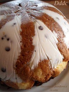 Zuccotto di pandoro ,ricotta e cioccolato! | Dolci Delizie di Casa