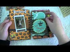 ▶ A Mini Halloween Junk Journal! - YouTube