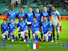Italy National Football Team In Fifa World Cup 2014 Wallpaper Uefa Football, Football Final, Team Wallpaper, Football Wallpaper, World Cup 2014, Fifa World Cup, Italy National Football Team, Soccer Team Photos, Italy World Cup