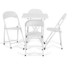 Vendo 6 Cadeiras De Ferro Dobrável - R$ 120,00