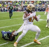 Alvin Kamara with arguably the best game in his career. – Sport is lifre Football Girls, Football Players, Saints Players, Alvin Kamara, New Orleans Saints Football, Who Dat, Southern Girls, Infj, American Football