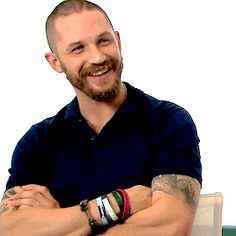Tom Hardy in an interview for Mad Max: Fury Road 4