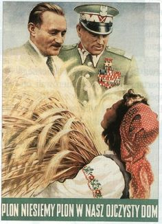 Vintage Socialist Posters in Poland, Poland People, Communist Propaganda, Old Advertisements, Advertising, Vintage Graphic Design, Quote Posters, Alien Logo, Werewolf, Farm Animals