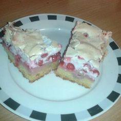 Ríbezlový koláč so snehom Cheesecake, Pie, Desserts, Food, Torte, Tailgate Desserts, Cake, Deserts, Cheesecakes