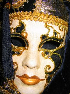 Venetian Mask - I have a mask similar to this that I bought in Venice.