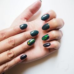 Zapraszam na paznokcie w Krakowie! :) #paznokcie #manicure #hybrydy #inspiracje #nails #patamaluje #patabloguje #nailsart #glassnails