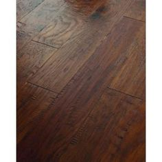 3/8 in. x 6 3/8 in. Hand Scraped Old City Lost Trail Hickory Engineered Hardwood (25.40 Sq. Ft./Case)-DH77900324 at The Home Depot