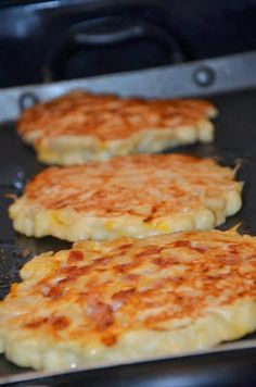 Holy....yes Macaroni and Cheese Pancakes - Recipes, Dinner Ideas, Healthy Recipes & Food Guide