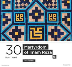 """The History of the Holy Shrine of Imam Reza(A.S.)"" https://medium.com/@squreguide/the-history-of-the-holy-shrine-of-imam-reza-a-s-1823e600f0ee#.hvlghtsqe"