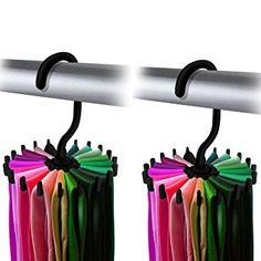 Tie+and+belt+organizer+and+10+brilliant+closet+organization+ideas!