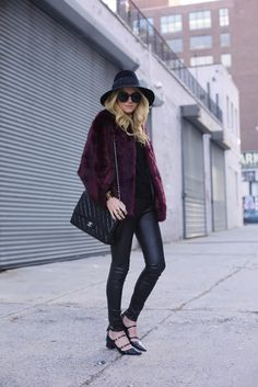 What I'd Wear : The Outfit Database (source : Atlantic Pacific ) Fall Winter Outfits, Autumn Winter Fashion, Winter Chic, Casual Chic, Estilo Blogger, Fashion Blogger Style, 2014 Trends, Mode Inspiration, Ideias Fashion