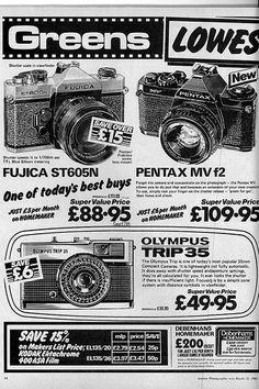 Olympus Trip 35 Advert 1980