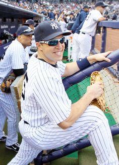 NY Yankees - Mark Teixeira.  Great first baseman.