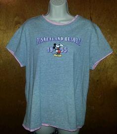 Disneyland Resourts T-Shirt (Mickey Mouse 1955) Size XL