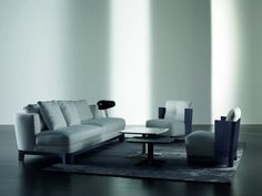 Keeton is a luxury and sophisticated sofa by Meridiani.