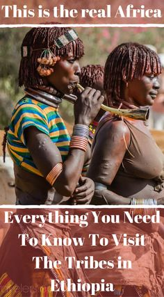 This is the real Africa. Everything you need to know to visit the tribes in Ethiopia. Click to read the full travel blog post Our Visit to the Omo Valley Tribes of Ethiopia