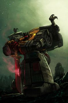 Transformers Grimlock by KlausScherwinski.deviantart.com on @DeviantArt
