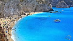 The countless charming beaches are going to make your trip there magnificent. Scroll down and take a look at The There Places In Greece That You Should Visit For A Memorable Vacation. Places In Greece, The Dreamers, How To Memorize Things, Vacation, Beach, Water, Photography, Travel, Outdoor
